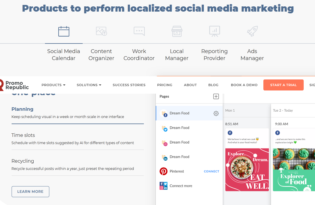 Manage all social media in one place