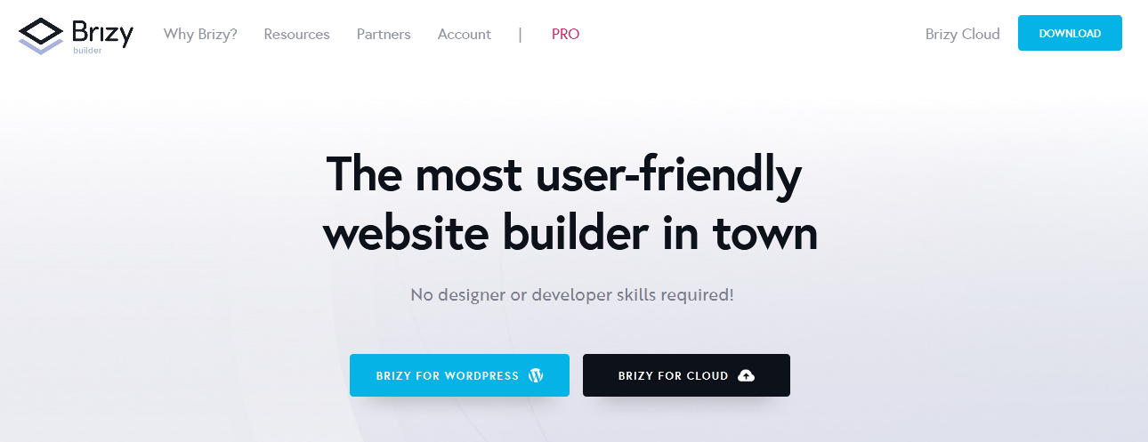 The most user-friendly website builder